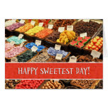 Happy Sweetest Day Assorted Colorful Candy Cards