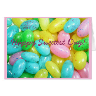 Happy Sweetest Day Jellybeans greeting card