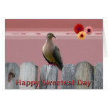Happy Sweetest Day Love Dove Cards