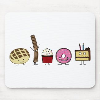 Happy Sweets Mouse Pad