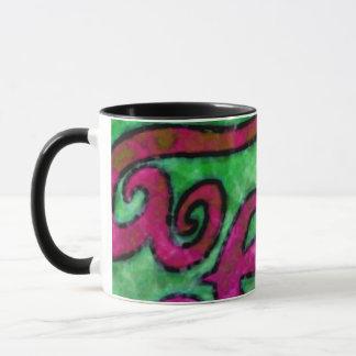 Happy Swirls ~ Mug