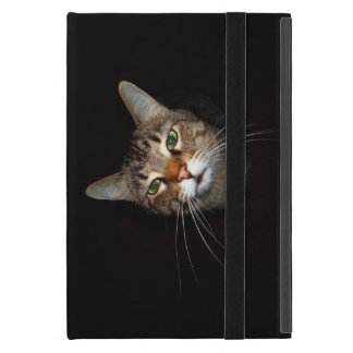 Happy Tabby Wiskers Cover For iPad Mini