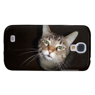 Happy Tabby Wiskers Galaxy S4 Cover