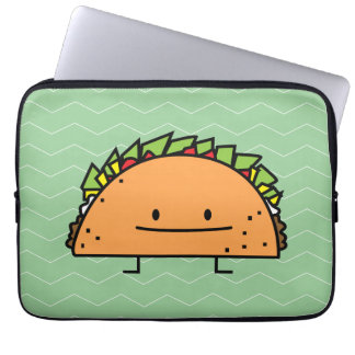 Happy Taco Laptop Computer Sleeves