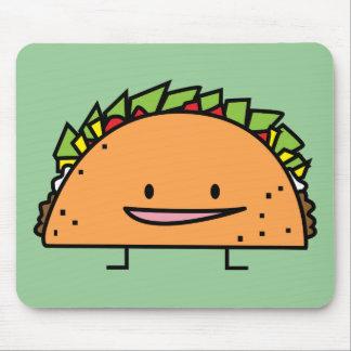 Happy Taco Mouse Pad