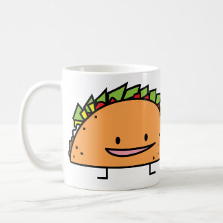 Happy Taco Classic White Coffee Mug