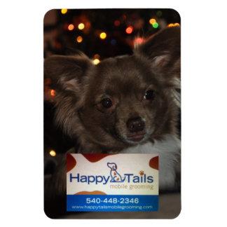 Happy Tails Hiro Magnet