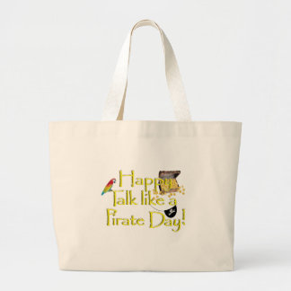Happy Talk Like A Pirate Day! Canvas Bags