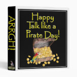 "Happy ""Talk like a Pirate"" Day Binders"