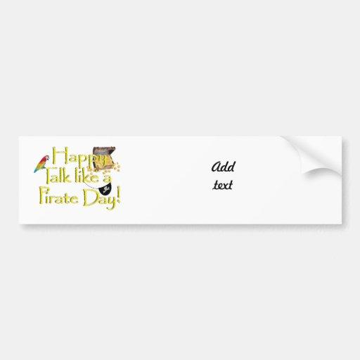 Happy Talk Like A Pirate Day! Bumper Sticker