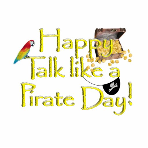 Happy Talk Like A Pirate Day! Cut Outs
