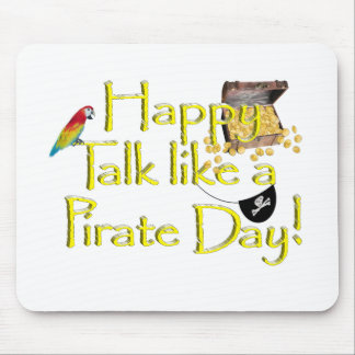 Happy Talk Like A Pirate Day! Mousepads