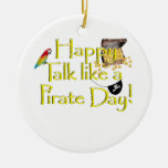 Happy Talk Like A Pirate Day! Ornaments