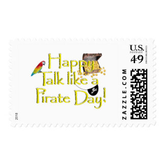 Happy Talk Like A Pirate Day! Stamps