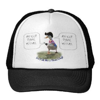"""Happy """"Talk like a Pirate"""" Day (speech bubble) Trucker Hat"""