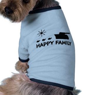 happy tank turtle family icon pet shirt