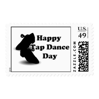 Happy Tap Dance Day Postage