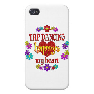 Happy Tap Dancing Cases For iPhone 4