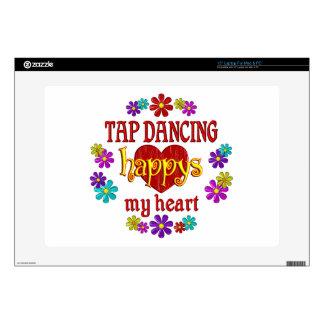 Happy Tap Dancing Skins For Laptops
