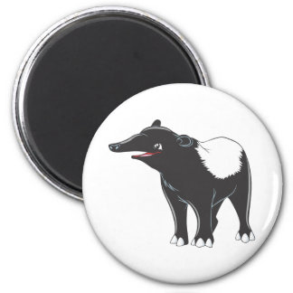 Happy Tapir 2 Inch Round Magnet