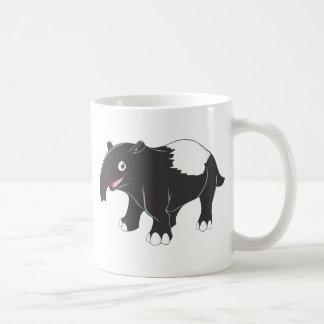 Happy Tapir Cartoon Mugs