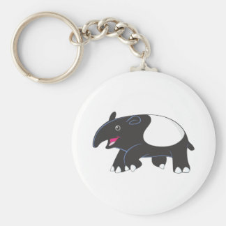 Happy Tapir Keychain