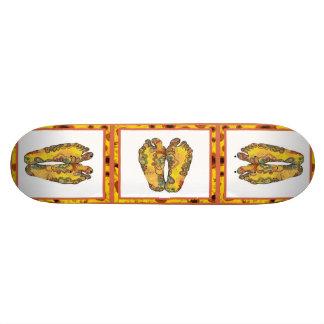 Happy Tappin' Hippy Feet Skateboard