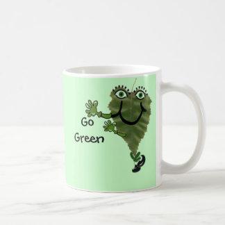 Happy Tappy, Go Green Coffee Mug