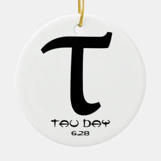 Happy Tau Day - Door / Car Ornament