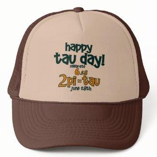 Happy Tau Day !! Mesh Hat
