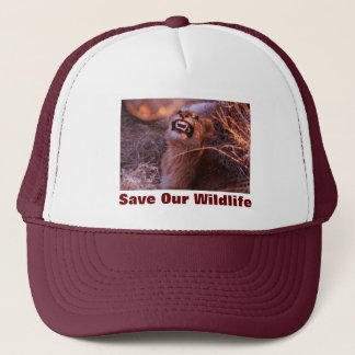 Happy Tau Save Our Wildlife Hat