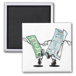 happy tax day 2 inch square magnet