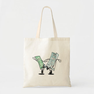 happy tax day budget tote bag
