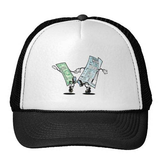 happy tax day mesh hats