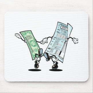 happy tax day mousepad