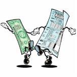 Happy Tax Refund Design Cutout