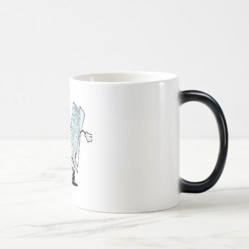Happy Tax Refund Design 11 Oz Magic Heat Color-Changing Coffee Mug