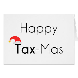 Happy TaxMas Card