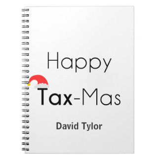 Happy TaxMas Notebook