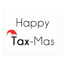 Happy TaxMas Postcard