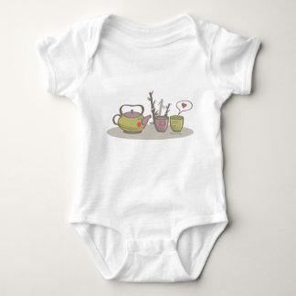 happy tea baby t-shirt