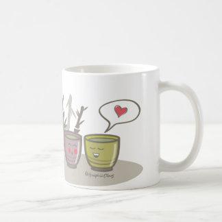 happy tea cup mug