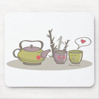 happy tea mousepad