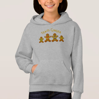 Happy 'Team Ginger' For Lucky Ginger and Redheads Hoodie