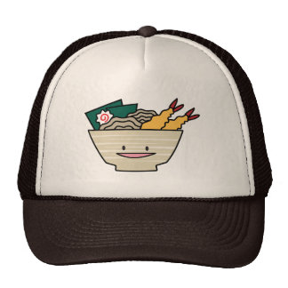 Happy Tempura Ramen Bowl Trucker Hat