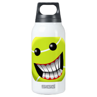 HAPPY TENNIS BALL INSULATED WATER BOTTLE