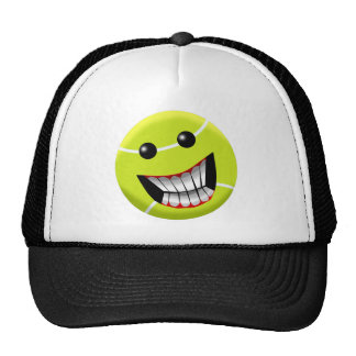 HAPPY TENNIS BALL TRUCKER HAT