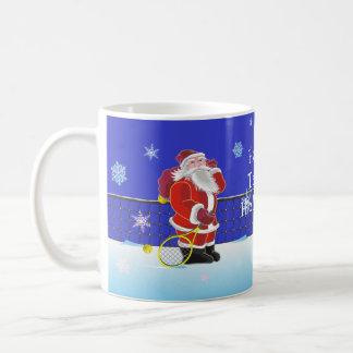 Happy Tennis Holidays Coffee Mug