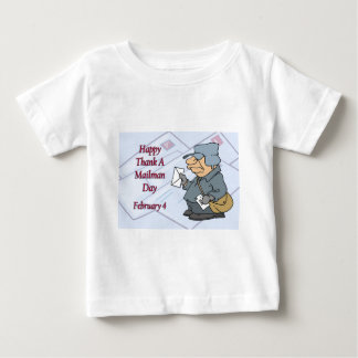 Happy Thank a Mailman Day February 4 T-shirt