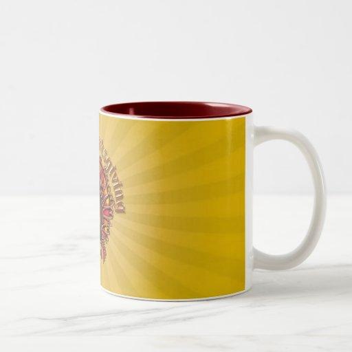 HAPPY THANKGIVING TURKEY by SHARON SHARPE Coffee Mug